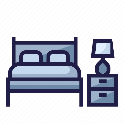 bed, bedroom, furnishing, furniture, home living, household, sleep icon