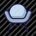 armchair, cushion, fun chair, furnishing, furniture, home living, household