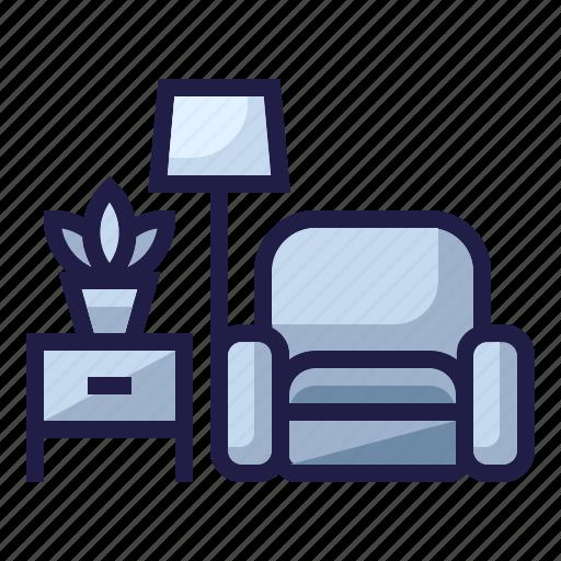 Furniture Home Living Filled Outline By Kerismaker