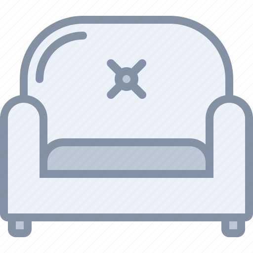 armchair, furniture, home, household, livingroom, room, seat icon
