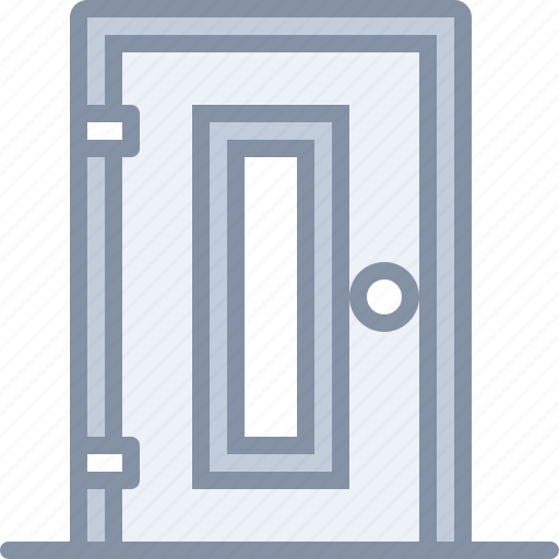 building, door, furniture, home, house icon