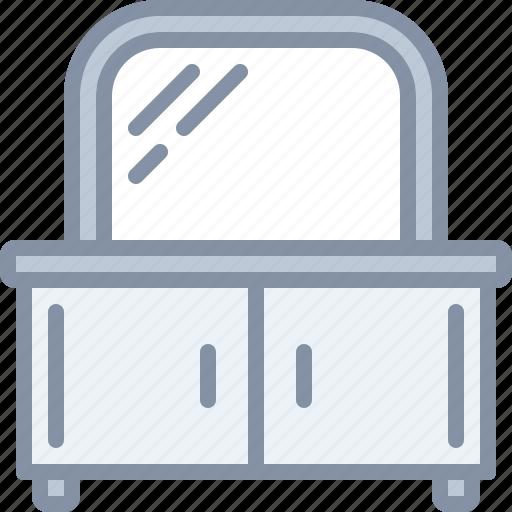 furniture, home, household, mirror, wardrobe icon