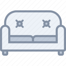 furniture, home, household, livingroom, room, sofa icon
