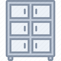 drawer, furniture, home, household, room, wardrobe icon