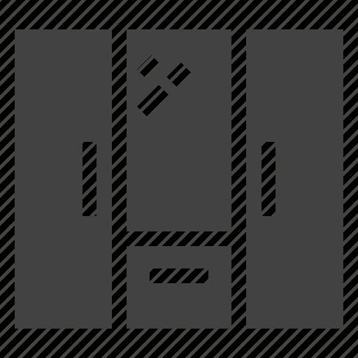 closet, cupboard, furniture, interior, wardrobe icon