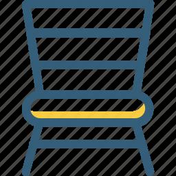 chair, decoration, furniture, home decor, sit, sit down icon