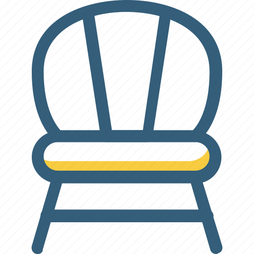 chair, decoration, furniture, home decor, vintage icon