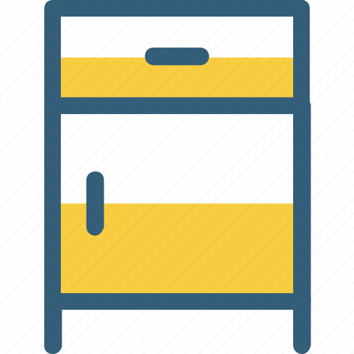 cupboard, decoration, furniture, home decor, shelf, table icon