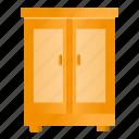 closet, cupboard, furniture, wardrobe icon