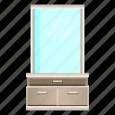 dressers, dressing, dressing table, furniture, interior