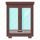 cabinet, closet, cupboard, furniture, interior, wardrobe icon