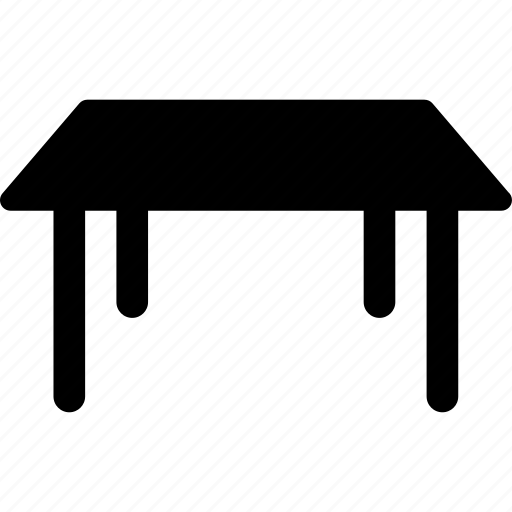 furniture, office, simple table, studio table, table icon