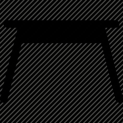 desk, furniture, interrior, simple table, studio table, table icon