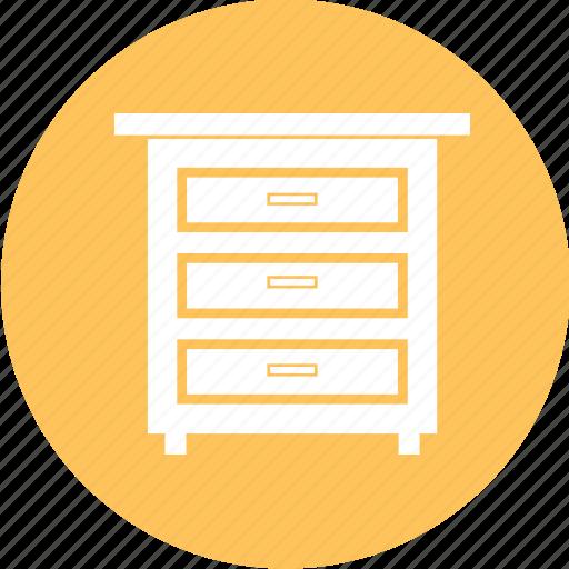 archive, cabinet, drawer, furniture, indoor, storage icon
