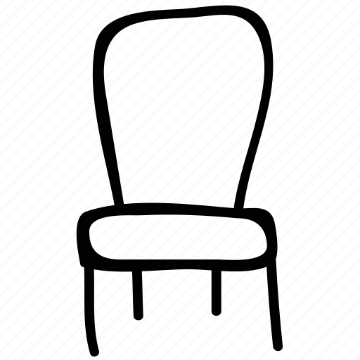 chair, interior, office, seat icon