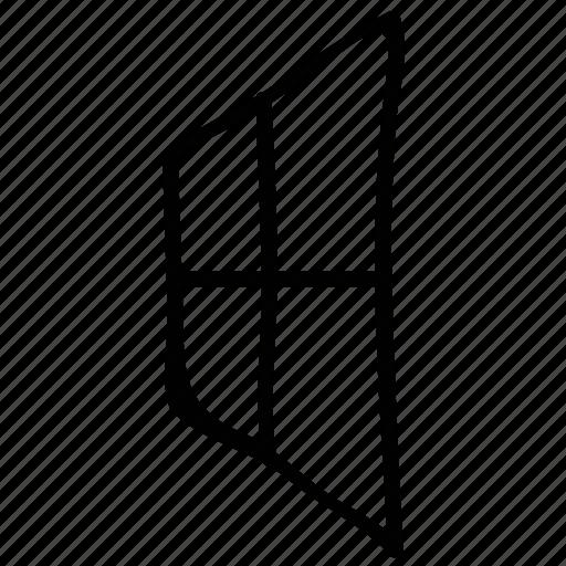 casement, view, window, window case icon