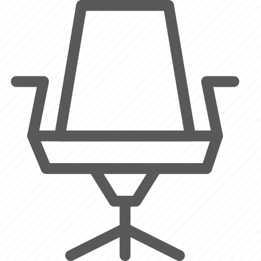 business, chair, furniture, interior, office, rest, sit icon