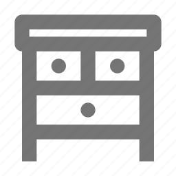 cabinet, dresser, furniture icon