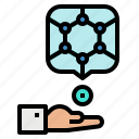 medical, microrobots, nanobots, nanomedic, nanotechnology icon