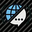 globalization, langues, service, translate, translating icon