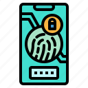 firm, privacy, protection, security, smartphones icon