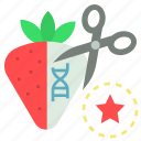biology, genetically, gmo, modified, organism, synthetic icon