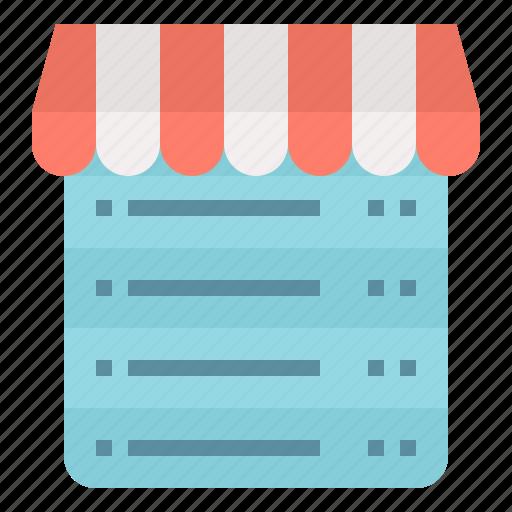 data, database, information, shop, storage, store icon