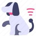dog, future, modern, pet, robot, science, technology icon