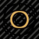 artificial, bionic, eye, optic, vision icon
