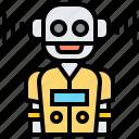 assistant, automate, futuristic, personal, robot icon