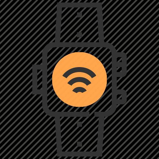 communication, electronic, future, robotic, smart, technology, watch icon
