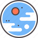 planet, terrestrial icon
