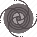 black, hole icon