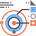 data, planetary, system icon