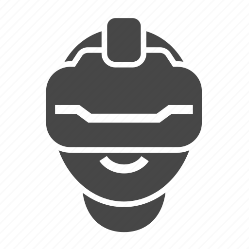 device, gadget, helmet, oculus, vr icon