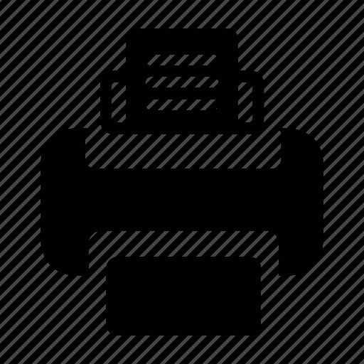 device, electronic, gadget, phone, printer, technology icon