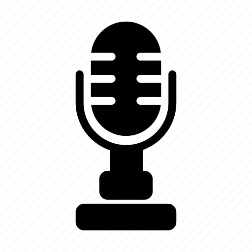 device, electronic, gadget, microphone, phone, technology icon