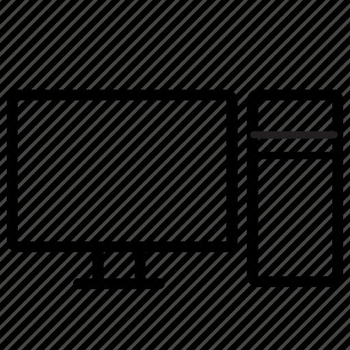 pc, personal computer icon