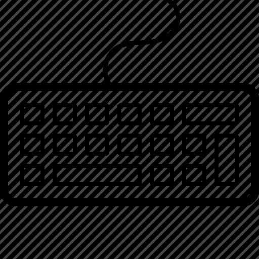 computer, hardware, interface, keyboard icon