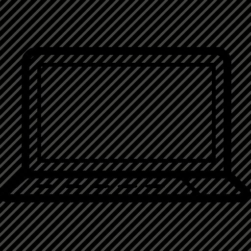 computer, lappy, laptop, technology icon