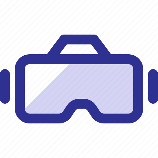 gadget, goggle, headset, reality, virtual, vr icon