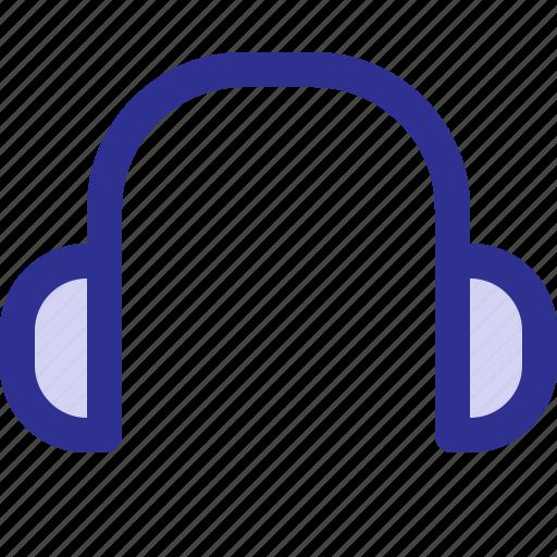 earphone, gadget, headset, sound icon