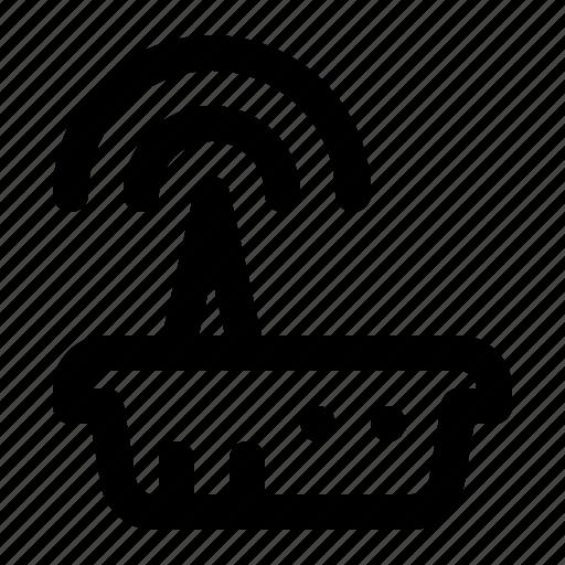 router, signal, wifi icon
