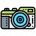 camera, collection, image, photograph, picture icon