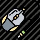 accessory, click, device, mouse, pointer icon