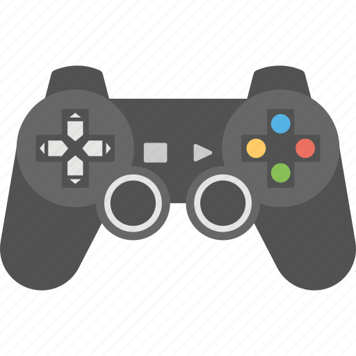 game console, game control, game pad, joystick, xbox controller icon