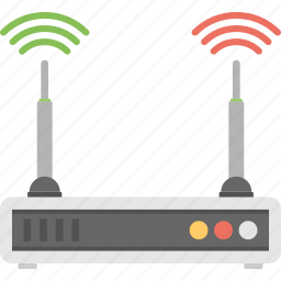 internet device, net access, wifi modem, wifi router, wireless router icon