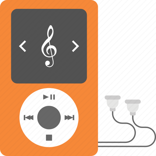 accessory, ipod, media player, mp3 player, music player, walkman icon
