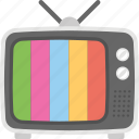 home gadget, idiot box, retro tv, television, tv set icon