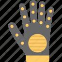 glove, hand cover, hand gadget, hand protector, mitt, mitten